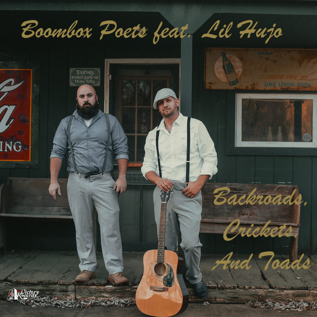 Boombox Poets feat. Lil Hujo - Backroads, Crickets And Toads Frontcover