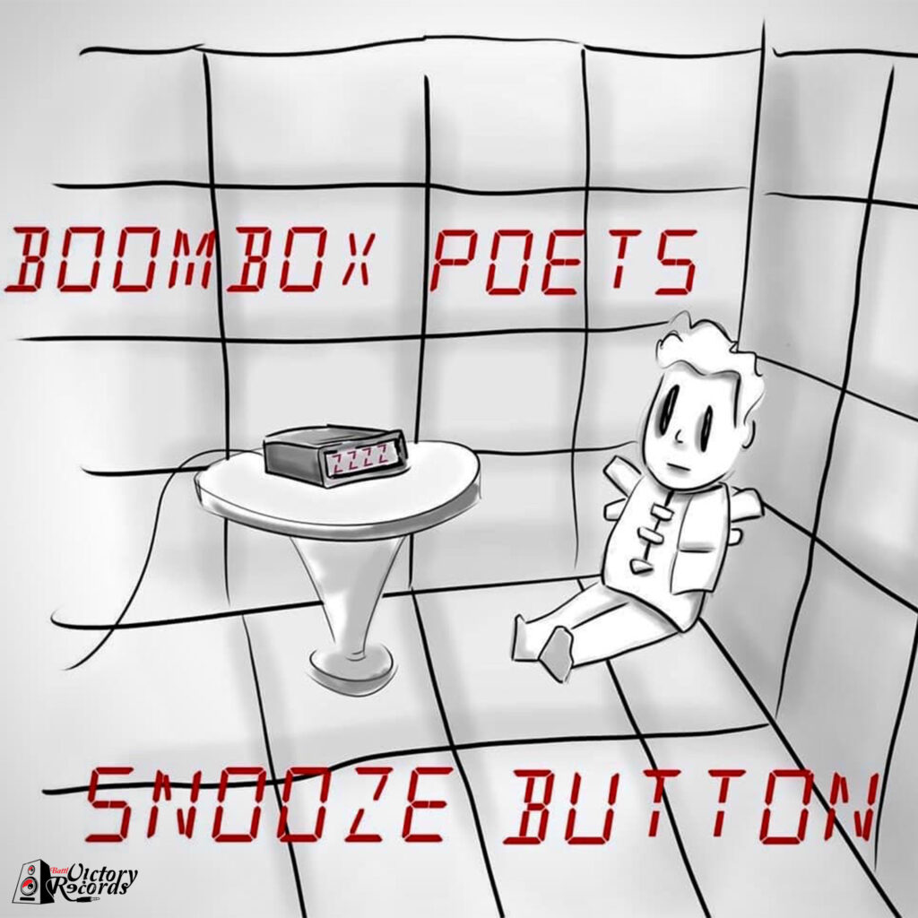 Boombox Poets - Snooze Button Frontcover