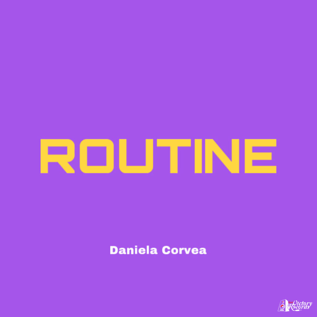 Daniela Covera - Routine Frontcover